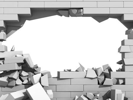Break Through The Brick Wall Of Resistance